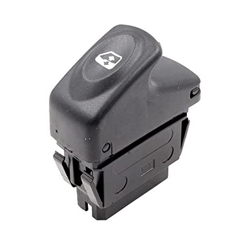 GLLXPZ Interruptor de La Botonera Elevalunas, para Renault Clio Kangoo Megane, Electrónico Panel Interruptor de Botón