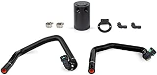Mishimoto MMBCC-MUS4-15PBK Ford Mustang EcoBoost Baffled Oil Catch Can, PCV Side, 2015+, Black