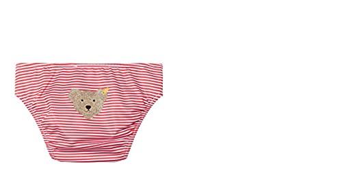Steiff Baby Schwimmwindel, rot(crimson) gestreift gr.92