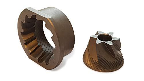 Coffee in Shape Discos de molienda compatibles como repuesto para el mecanismo de molienda Saeco, Jura, Nivona, AEG, Bosch y...