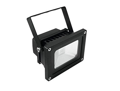 Eurolite LED IP FL-10 COB UV | Wetterfester (IP54) UV-Scheinwerfer mit 10-Watt-COB-UV-LED | High-Power UV Schwarzlicht Beleuchtung | Vielseitige UV-Effekte möglich