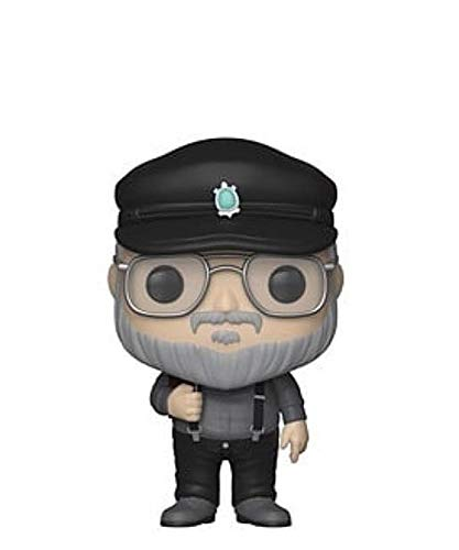 Funko Pop! Icons – Games of Thrones – George R. R. Martin Exclusive to Napoli Comicon 2019 #01 Figurine en vinyle 10 cm Released 2018