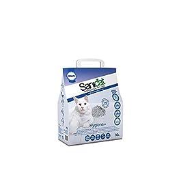 Sanicat Hygiene + Non-Clumping Cat Litter, 3.85 kg