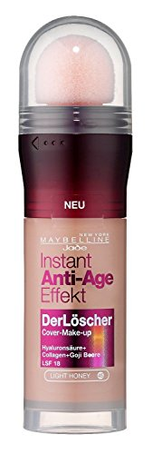 2 x Maybelline nuevo york The Eraser Instant anti-age Imprimación – 45 Light Honey