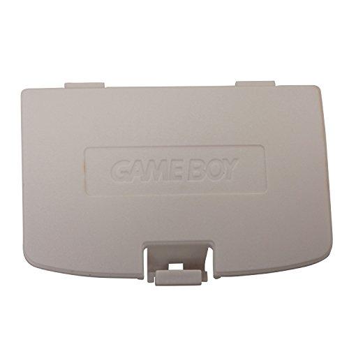 Timorn Ersatz Batteriedeckel Batterie Deckel für Gameboy Color GBC Konsole (Weiß)