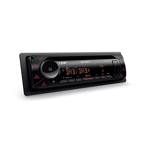 Sony MEXN7300BD - Radio CD (USB, Bluetooth, NFC, iluminación Variable, Micro Externo y Control de Voz, Compatible iPhone Siri Eyes Free y Android)