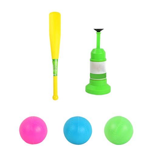 Egosy Kinder Baseball Spiel Set, halbautomatischen Launcher Kinder Basebälle Training Toys