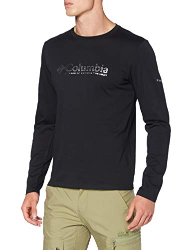 Columbia Lookout Point, Tee-shirt Graphique Manches Longues Homme