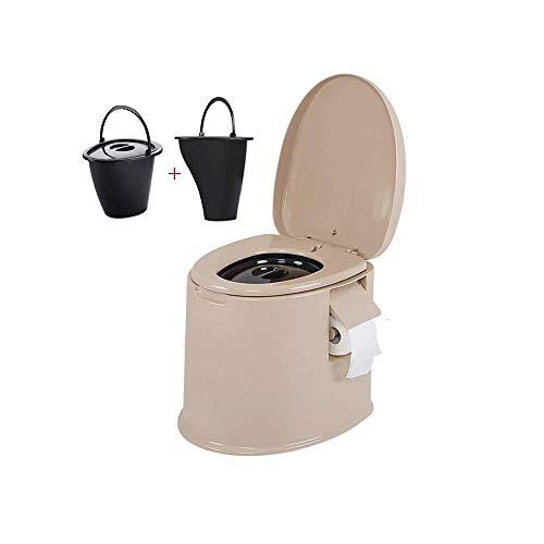 GJNVBDZSF Vaso sanitário móvel conveniente e prático, design de amortecimento silencioso, anel de vedação de desodorante ideal para viagens ao ar livre