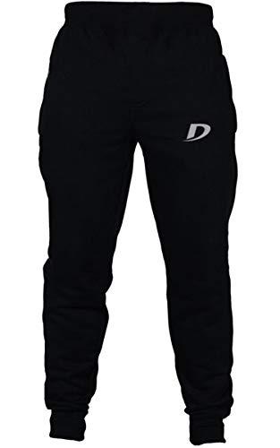 "DECISIVE® Fitness Joggers Track Pant for Men- Black XX-Large (Waist- 36""-40"")"