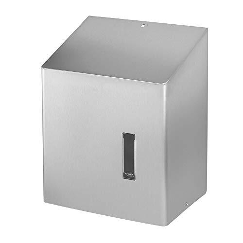 OPHARDT Hygiene 745.600 SanTRAL CEU 1 E AFP Papierhandtuchspender für Papierrollen, Edelstahl gebürstet
