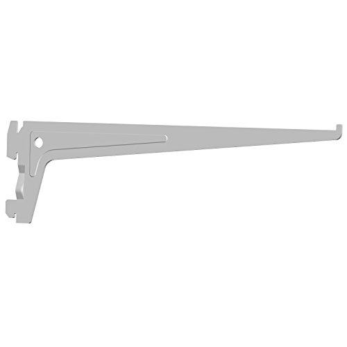 Element System 18133-00009 PRO-Träger Regalträger 1-reihig / 2 Stück / 7 Abmessungen / 3 Farben/L = 30 cm/weiß/für Regalsystem/Wandschiene