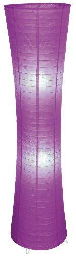 Naeve lampen decoratieve vloerlamp/hoogte: 123 cm ø 30 cm, violet 2003624