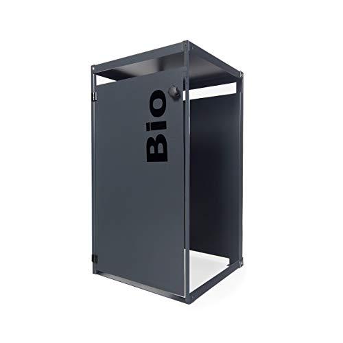 Metz mezona trashbox Mülltonnenbox Zusatzmodul für 80l und 120l Mülltonnen