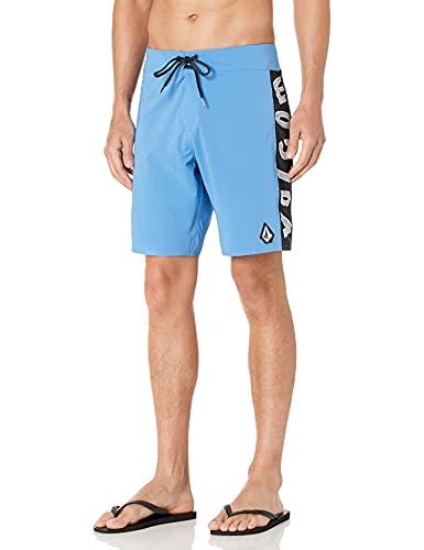 Volcom Men's Mod Dead Lido 19 Board Shorts, Ballpoint Blue, 40