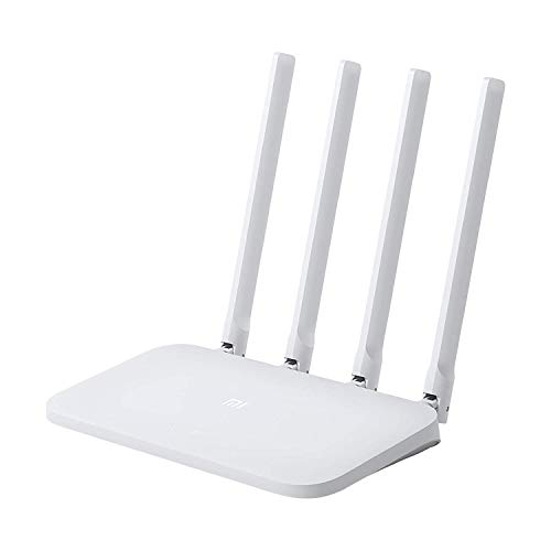 (Renewed) Mi Smart Router 4C, 300 Mbps with 4 high-Performance Antenna & App Control