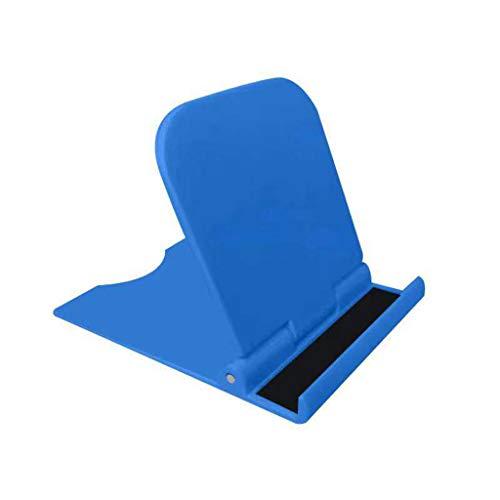 Soporte plegable de la tableta del soporte del soporte del teléfono móvil del ángulo ajustable de escritorio