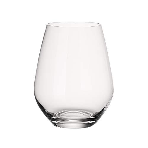 Villeroy & Boch Ovid Set de vasos de agua, 4 piezas, 420 ml, Cristal,