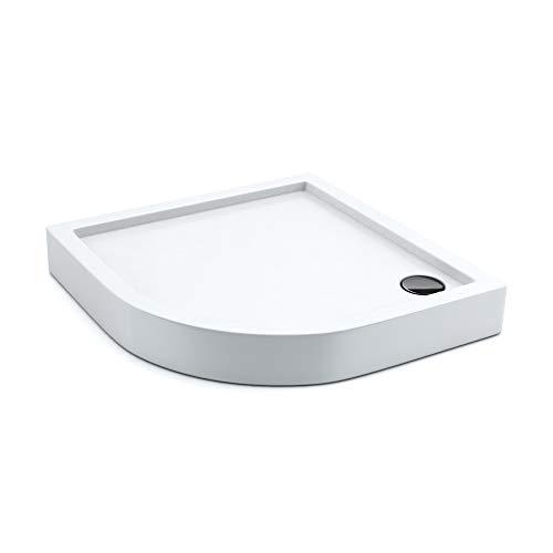 AQUABAD® Duschwanne Comfort Ultima 90x90cm Viertelkreis R55