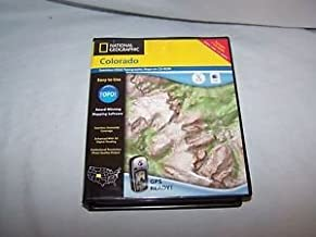 National Geographic TOPO! Colorado Map CD-ROM (Mac)