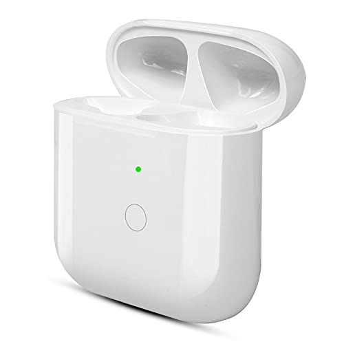 Upgraded Wireless Charging Case Replacement Compatible with AirPod 1 2, Air Pod Charger Case with...