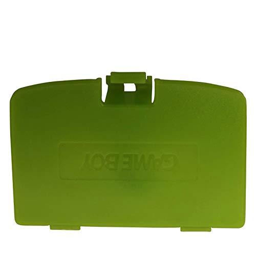 GBC Batterie Abdeckung, ENDARK Kunststoffreparatur Rückendeckel Teile Ersatz Akkufachdeckel für GBC Gameboy Color System (2 stücke Grün)