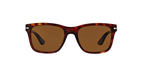 Persol 0po3135s Occhiali da Sole, Marrone (Havana/Brownpolarized), 55 Uomo