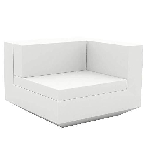 Vondom Vela canapé module gauche blanc