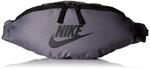Nike Unisex Heritage Hip Pack Tasche, Gunsmoke/Black/Black, Misc