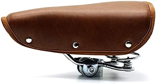 Tophacker Silla De Bicicleta Retra De La Vendimia para La Bicicleta De Montar De Ciclismo con La Cubierta Duradera De La Primavera Accesorios para Bicicletas