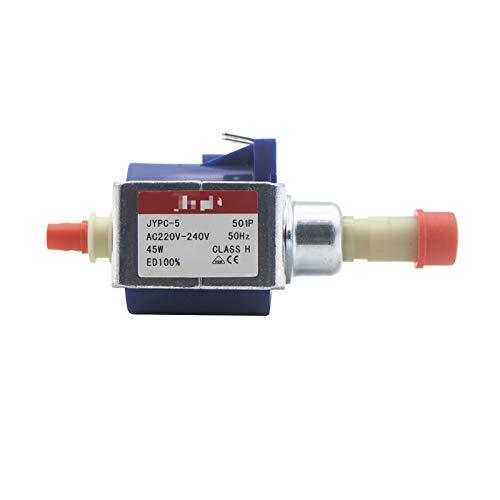 JunHUA 220V - 240V 9bar 45W elettromagnetica Acqua peristaltica Pompa ad Alta Pressione Macchina da caffè Pompa autoadescante