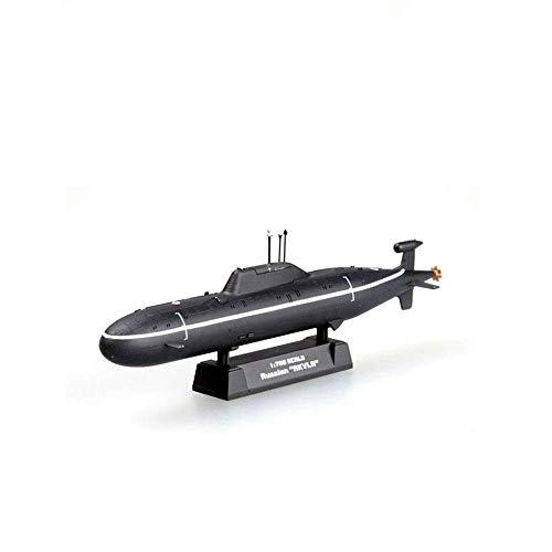 Il modello distruttore militare: scala 1/700 vero e proprio restauro della Akula-classe del modello decorazione sottomarino russo Marina.5.2Inch x 0.5inch (13.2cmX1.2cm) dimensioni, per chi ama le armi militari, sia come una scelta eccellente per la ...