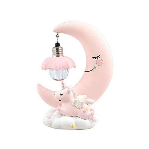 TARTIERIE LED Night Light Moon Résine Cartoon Pépinière Lampe Chambre Respiration Lanterne Cartoon Bébé Pépinière Lampe Respiration pour Enfants Kid Jouet Cadeau De Noël