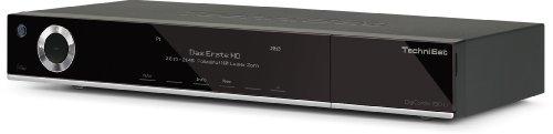 Technisat DigiCorder ISIO C digitaler HDTV TWIN-Kabelreceiver | Mit 500GB-Festplatte, Internet, DVR, CI+, UPnP, Ethernet | Schwarz