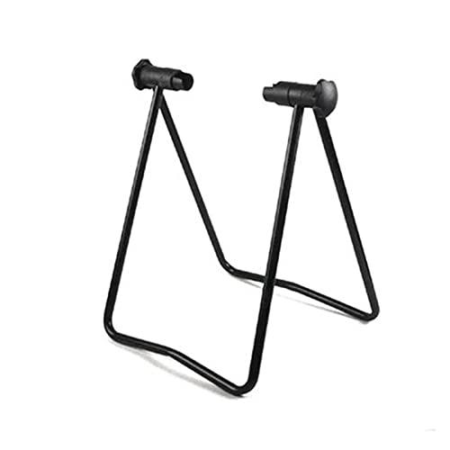 YINHUI Elevata qualità Universal Bike Bycle Bike Display Triplo Hub Hub Repair Stand Kick Stand Fit for Parking Holder Pieghevole (Color : Black)