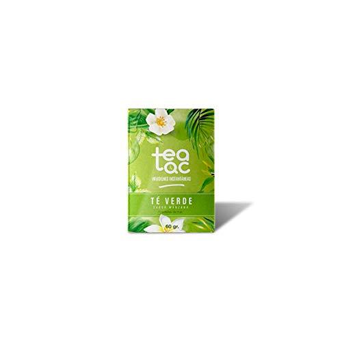 LA TETERA AZUL Te Verde Frío Sabor Manzana. Infusión Fría En Polvo. Tea Tac. Caja Con 20 Sobres.