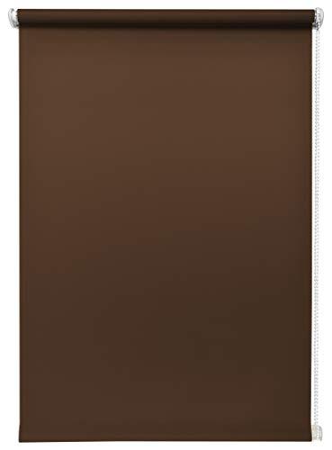 Beyond Drape speciale artikelen daglicht-rolgordijn bruin 60 x 150 cm zonder boren zijtrekrolgordijn klemrolgordijn lichtdoorlatend