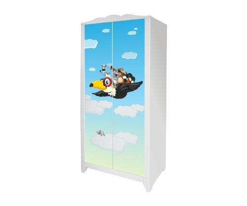 Tierwelt Möbelsticker/Aufkleber für den Kinderschrank HENSVIK von IKEA - IM177 - Möbel Nicht Inklusive | STIKKIPIX