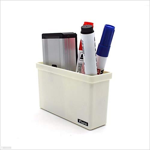 2 cajas de almacenamiento magnéticas de plástico para cajón de pizarra y pizarra, organizador de escritorio, cajas de almacenamiento para el hogar (Greetfrog)