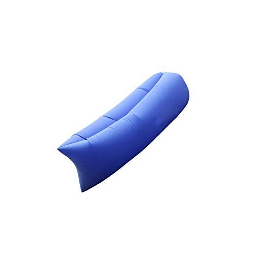 BANGSUN Aufblasbares Sofa, tragbar, faltbar, für drinnen und draußen, Luftbett geeignet