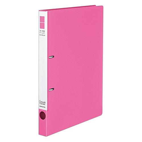 コクヨ ファイル リングファイル スリム 2穴 A4 180枚収容 ピンク フ-URF420P