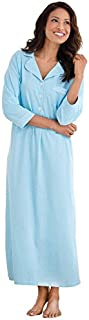 Image of PajamaGram Long Womens Cotton Night Gown - More Colors Available