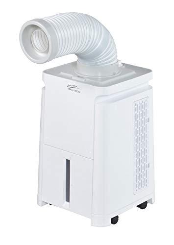 【Amazon.co.jp限定】ナカトミ(NAKATOMI) 移動式エアコン 【便利なキャスター付き】 ミニ スポットクーラー スポットエアコン グレー MAC-10CG