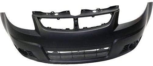 Go-Parts - OE Replacement for 2010 - 2012 Suzuki SX4 Front Bumper Cover (CAPA Certified) SZ1000140C Replacement For Suzuki SX4