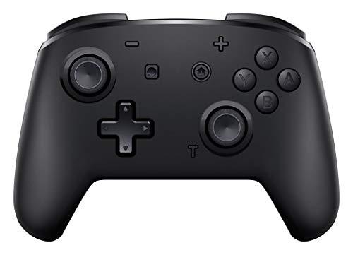 momen Mando Inalámbrico para Nintendo Switch Wireless Bluetooth Pro Switch Mando con Dos Motores/ Función Turbo/Vibración Ajustable/Giroscopio para Nintendo Switch/Lite (Negro)