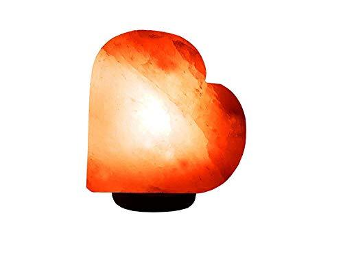 Zoutlamp hart kristal hart zout lamp Ca 3 Kilo inclusief Salzlampenfassung en lamp