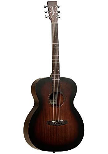 Tanglewood TWCRO - Guitarra acústica folk, color naranja