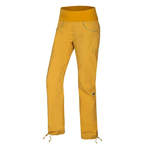 Ocun Noya Pants Women Größe S Yellow/Blue