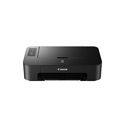 Canon PIXMA TS205 Drucker Farbtintenstrahl DIN A4 (Fotodruck, 4.800 x 600 dpi, USB, optionale XL Tintenpatronen), schwarz