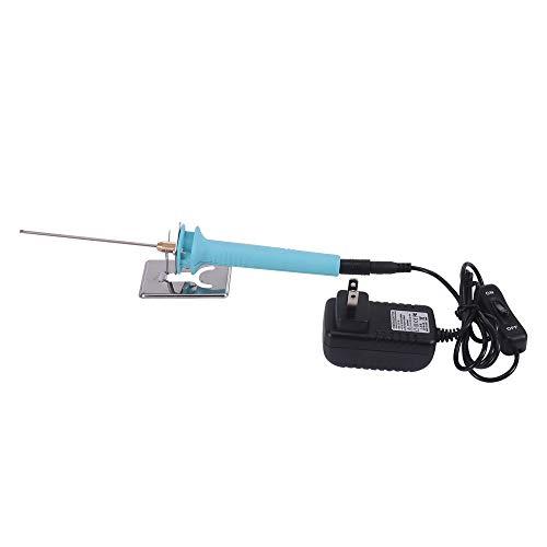 Cortador eléctrico de espuma de poliestireno extruido de 10 cm con adaptador transformador de voltaje electrónico de 15 W